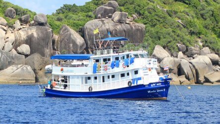 short southern liveaboards with manta queen 5