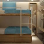 renovated twin cabin