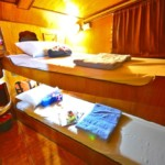 twin bed cabin