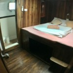 double bed ensuite lower deck