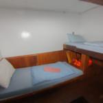 lower deck non ensuite twin bunk mq8